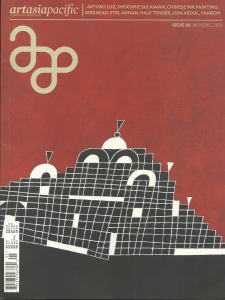 Arts Asia Pacific Exhibition Review by Marlyne Sahakian Nov/Dec 2013